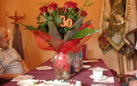 Jubileusz 80- lecia Urodzin Starszego Cech Tadeusza Pateckiego