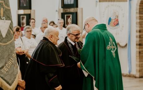 Pożegnanie księdza kapelana rzemiosła średzkiego dr. Jacka Stępczaka