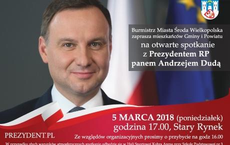 Spotkanie z Prezydentem RP panem Andrzejem Dudą