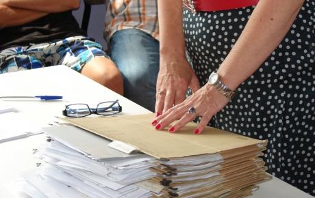 Uroczyste podpisanie umów w celu praktycznej nauki zawodów
