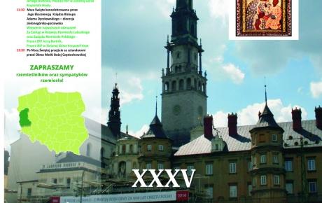 XXXV Ogólnopolska Pielgrzymka Rzemiosła Polskiego na Jasną Górę